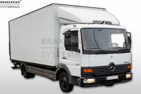 LKW Mercedes 817L   gebraucht, sofort verfügbar, Zustand: technisch ...