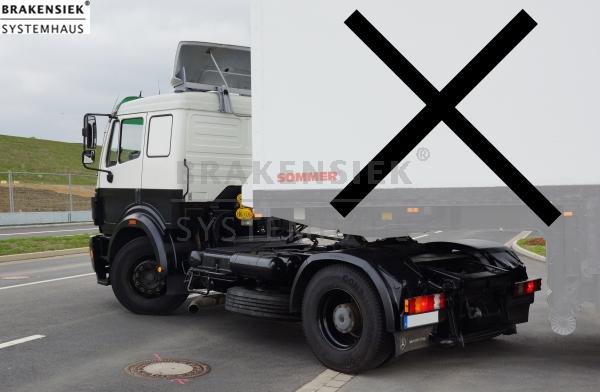 Sattelzugmaschine Mercedes Benz/Daimler Chrysler - SZM1424LS Typ 916 ...