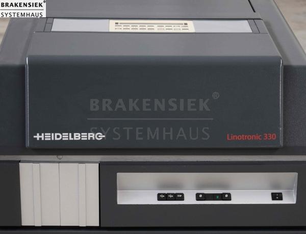 Details zu Linotype-Hell Linotronic 330 / Laser getauscht + RIP (HQ, RIP50)  gegen Aufpreis
